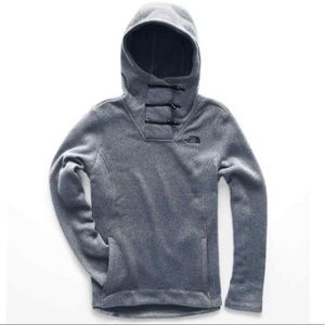 NWT The North Face Crescent Hooded fleece